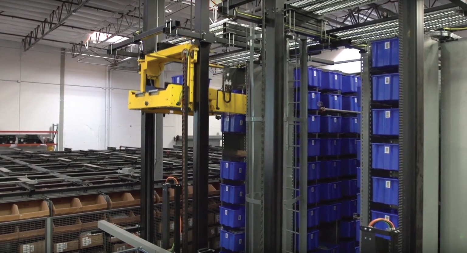automated storage and retrieval systems, Retail, White Systems