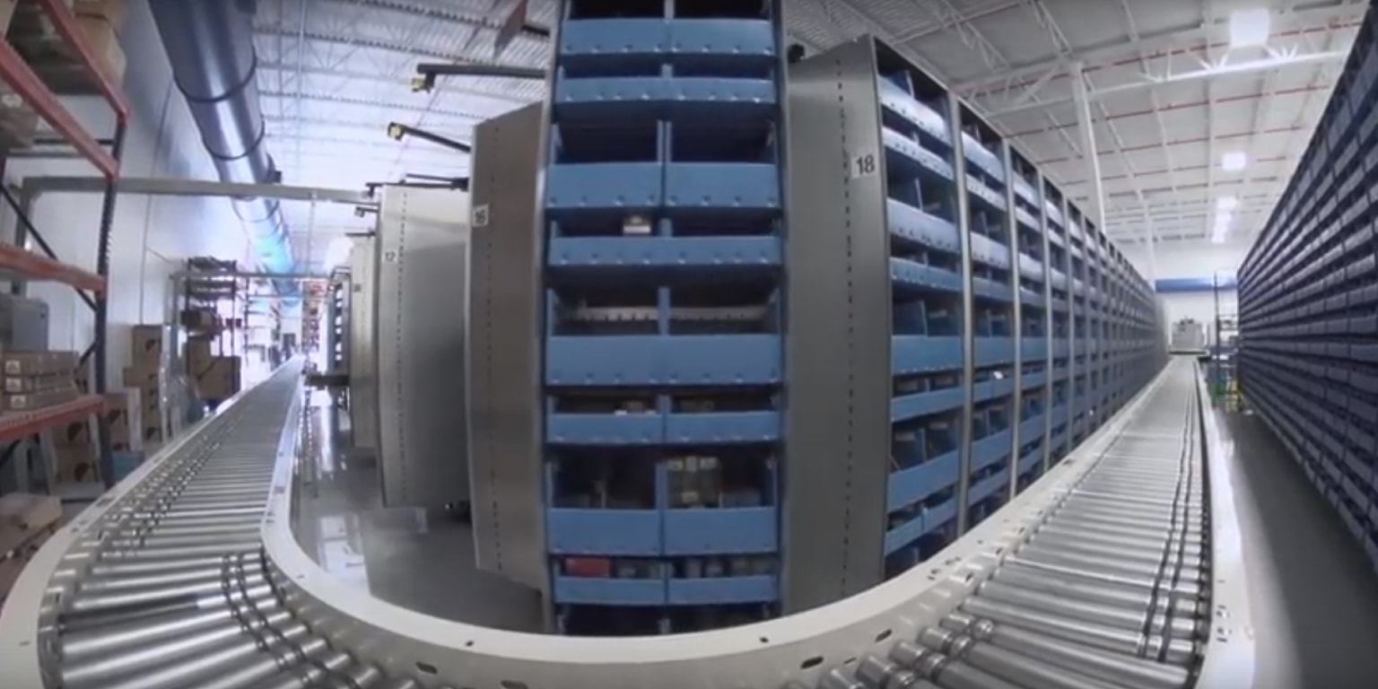 automated storage and retrieval systems, eCommerce, White Systems