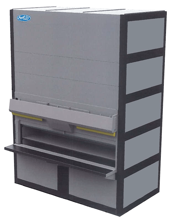 Vertical lift module, Silo L, White Systems
