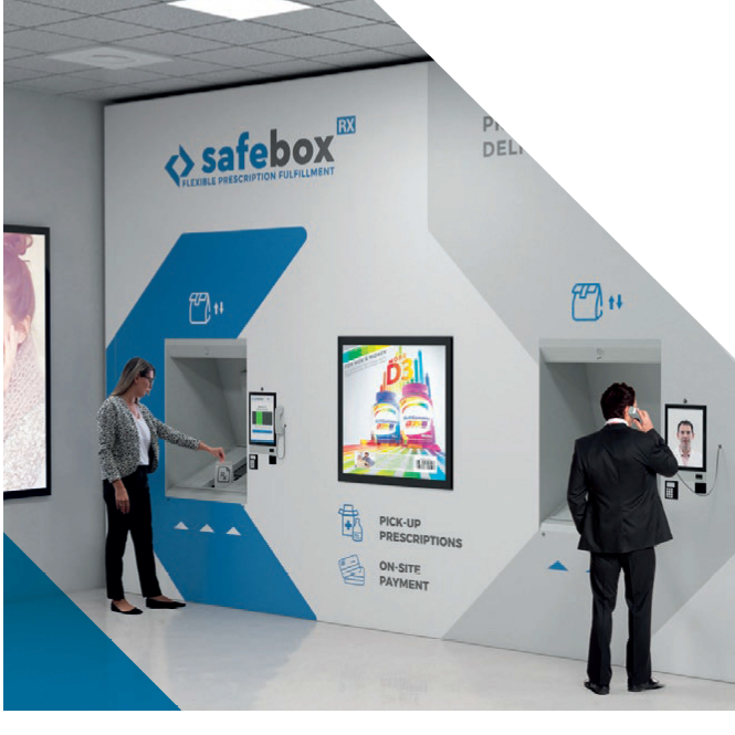 pharmacies, SafeBox RX, White Systems