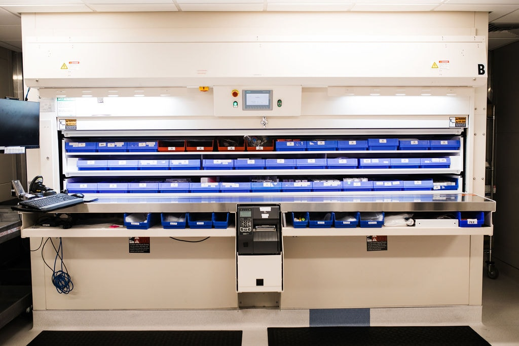 pharmacy storage automation solutions, Pharmacy, White Systems