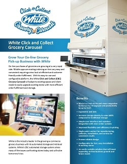 Grocery Carousel, Grocery Carousel, White Systems